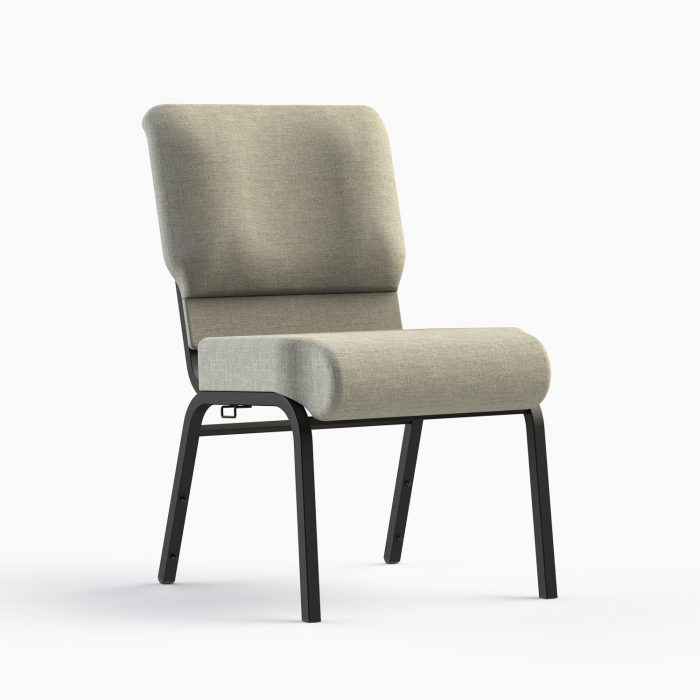 7701-HZ Church Chair w/ Quartz Fabric