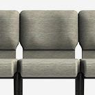 Ganged ComforTek Church Chairs