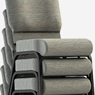 ComforTek Stacked Church Chairs