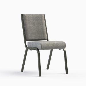 AW 19 Charcoal / Silvervein Frame - Stocking Chair