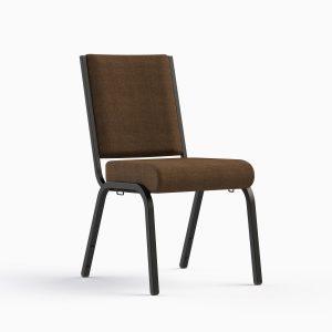 AW 29 Espresso / Textured Black Frame - Stocking Chair