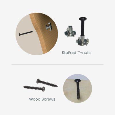 Dare to Compare T-nuts