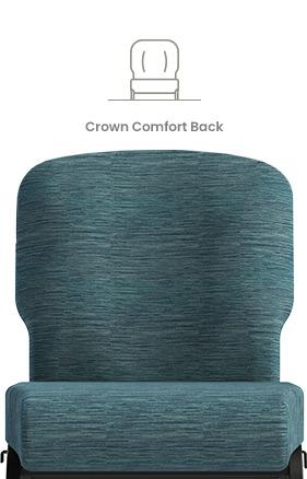 Crown Comfort Back Church Chair