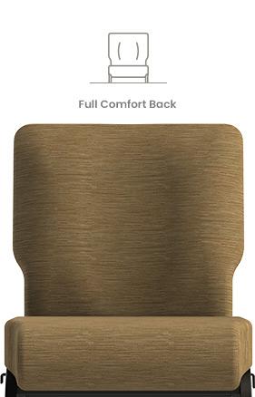 Full Comfort Back Church Chair