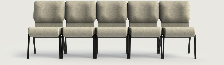 Seamless Seating Church Chairs