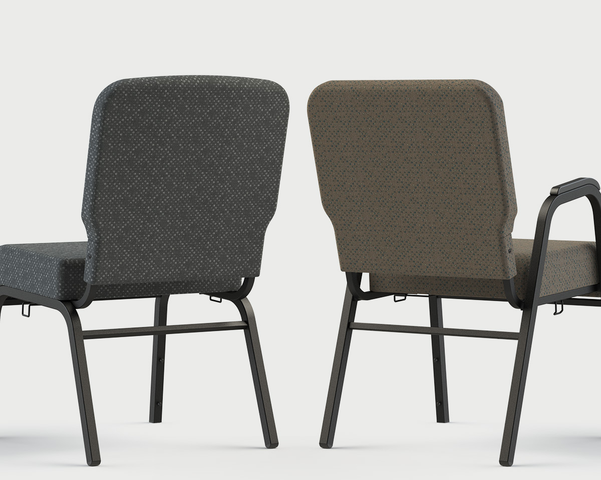 What's Your Worship Style - Enclosed Back Church Chairs