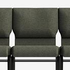 Ganged Jubilee 2 Church Chairs