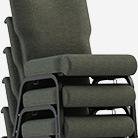 ComforTek Stacked Church Chairs